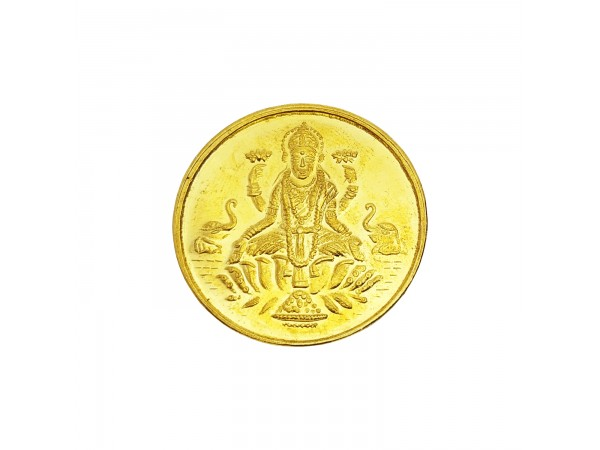 2 gm laxmi coin 24k