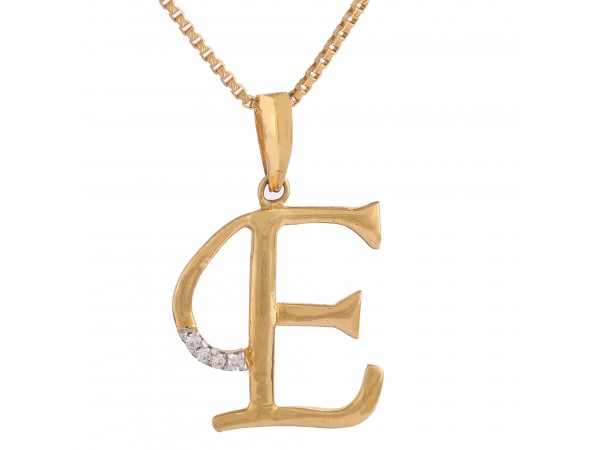 Beautiful E Pendant
