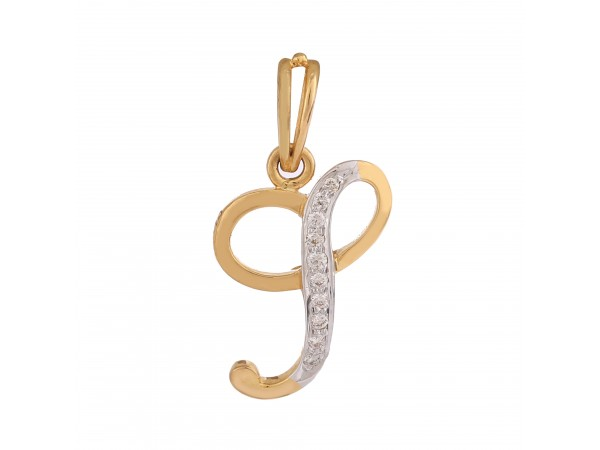 Beautiful J Pendant