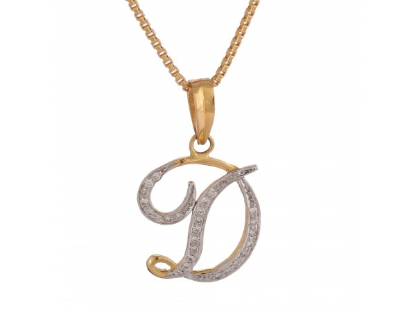 Beautiful D Pendant
