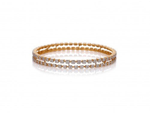 The Beatriz Round Bangle