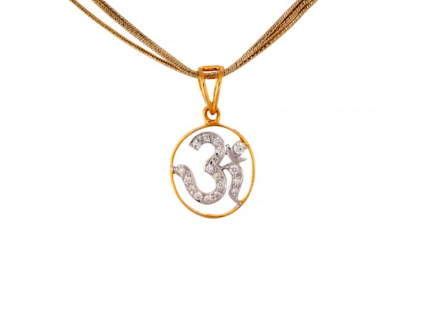 The Om Diamond Locket