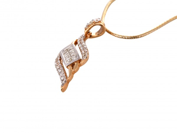 The Celia Diamond Locket