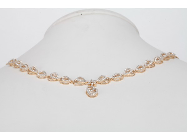 The judi Diamond Necklace Set