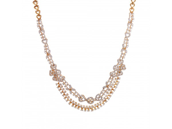 The Aara Diamond Necklace Set