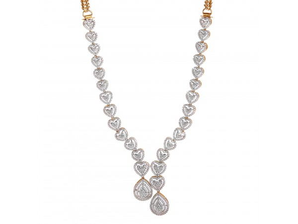 The Ettie Fire Necklace Set