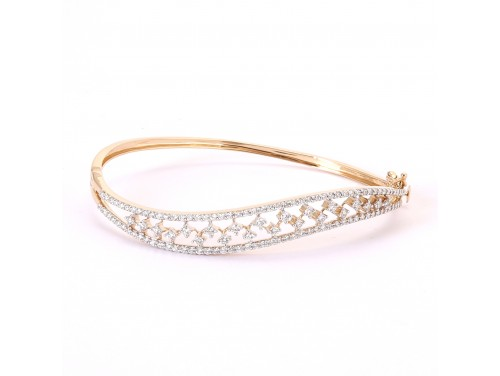 The Swirl Diamond Bracelet