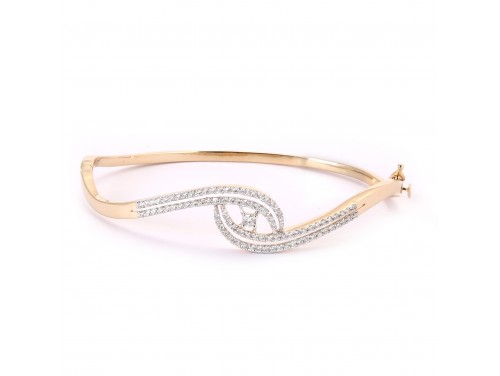 18k Women Diamond Bracelet