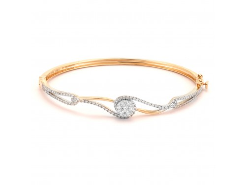 The Abheek Diamond Bracelet