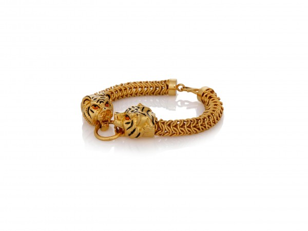 Tiger Shaped Bracelet