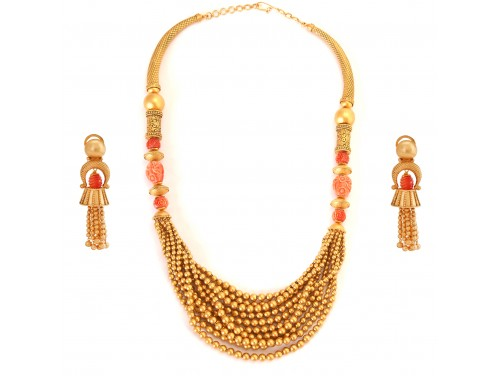 The Rosette Necklacs Set