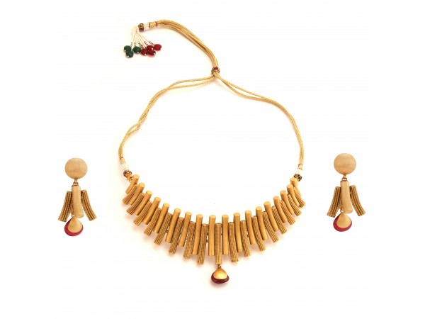 The Sumiya Gold Necklace Set