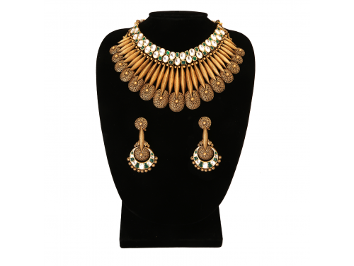 The Lavanya Gold Necklace Set