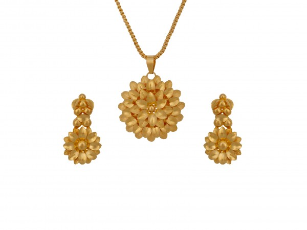 The Perrin Gold Locket Set