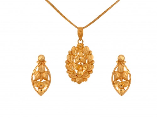The Diane Gold Locket Set