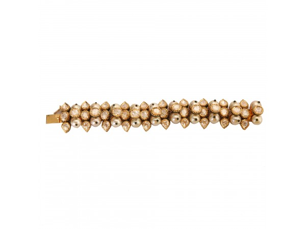 The Flair Jadau Gold Bracelet