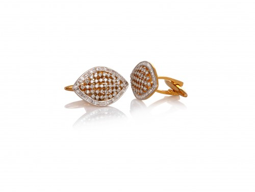 Diamond Cufflinks for Gents